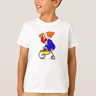 Clown on tricycle T-Shirt