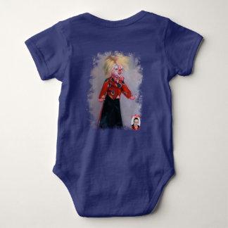 Clown/Pallaso/Clown Baby Bodysuit