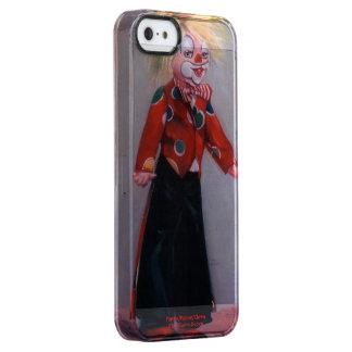 Clown/Pallaso/Clown Clear iPhone SE/5/5s Case