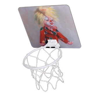 Clown/Pallaso/Clown Mini Basketball Hoop