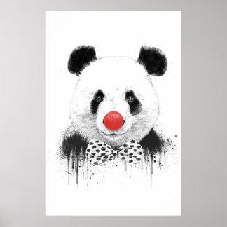 Clown panda poster