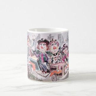 Clown Parade Classic White Coffee Mug