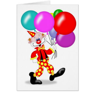 Clown Party Invitation - TBA