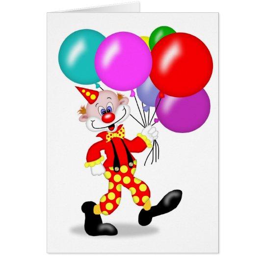 Clown Party Invitation - TBA