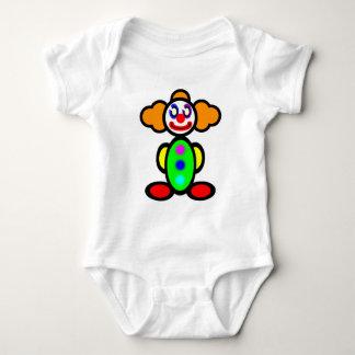 Clown (plain) baby bodysuit