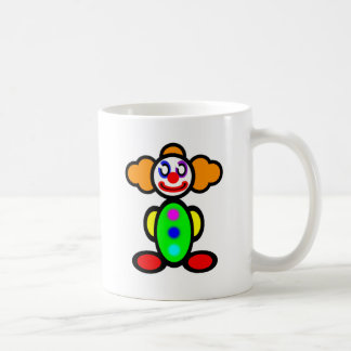 Clown (plain) coffee mug