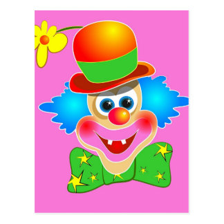 Clown Postcard