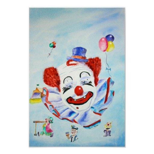 Clown Print