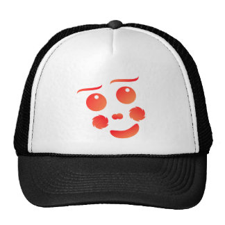 Clown shape face fun design hats