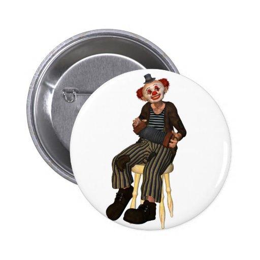 Clown Sitting Buttons