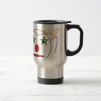 Clown Sketch Stainless Steel Travel Mug