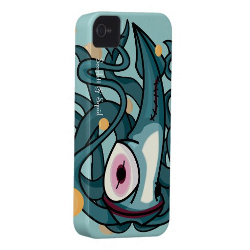 Clown Squid Case for Blackberry Bold Blackberry Bold Cover