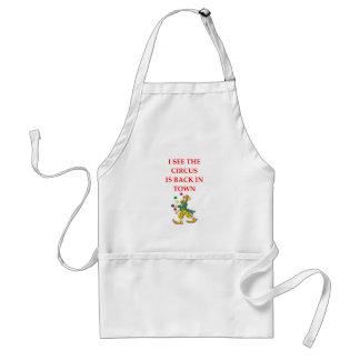 clown standard apron
