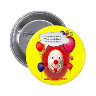 Clown Theme Party 6 Cm Round Badge