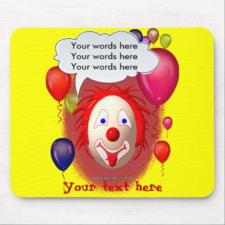 Clown Theme Party Mouse Pad