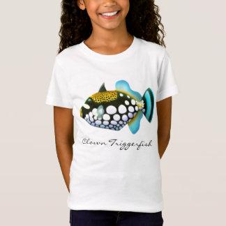Clown Triggerfish Girls Babydoll Shirt