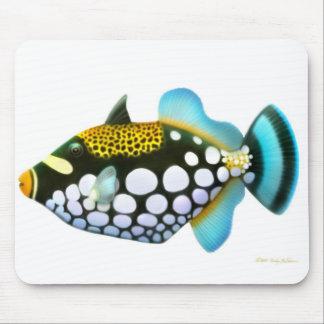 Clown Triggerfish Mousepad