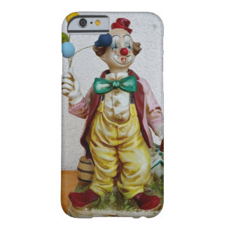 Clown with balloons barely there iPhone 6 case