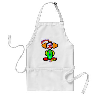 Clown (with logos) standard apron