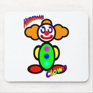 Clown (with logos) mouse mat