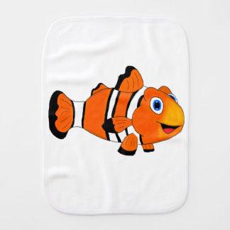 Clownfish Burp Cloth