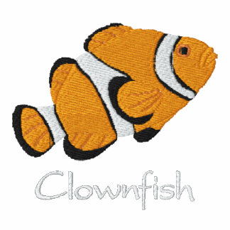 Clownfish Embroidered Shirt Long Sleeve