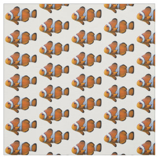 Clownfish Fabric (Choose Your Colour)