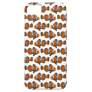 Clownfish Frenzy iPhone 5 Case (White)