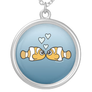 Clownfish Love Personalized Necklace