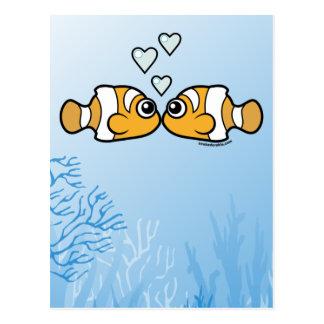 Clownfish Love Post Card