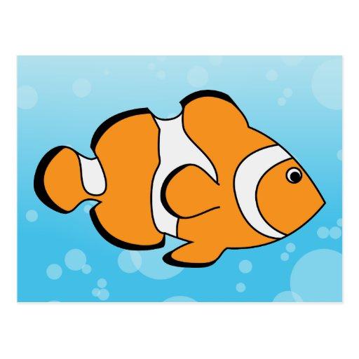 Clownfish Postcard