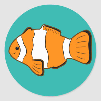 Clownfish Stickers