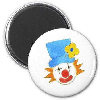 Clowning Around 6 Cm Round Magnet