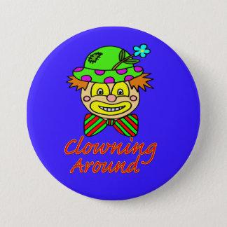 Clowning Around 7.5 Cm Round Badge