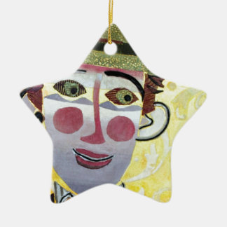 Clowning Around. Christmas Ornament