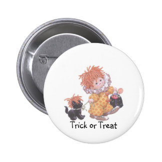Clowning Around For Candy! - Collector Button 2 Inch Round Button
