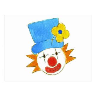 Clowning Around Postcard