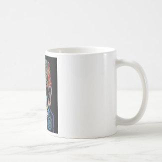 clowning basic white mug