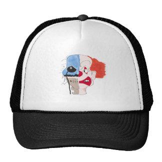 clownmark mesh hats