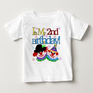 Clowns 2nd Birthday Baby T-Shirt