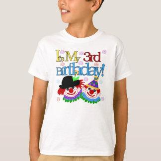 Clowns 3rd Birthday T-Shirt