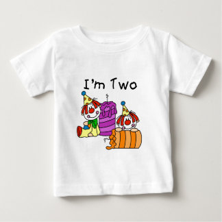 Clowns and Candles 2nd Birthday Tshirts and Gifts