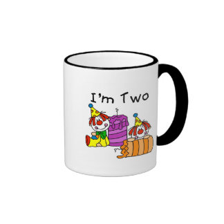 Clowns and Candles 2nd Birthday Tshirts and Gifts Coffee Mug