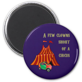 Clowns and Circus Magnet