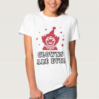 Clowns Are Evil Tshirts