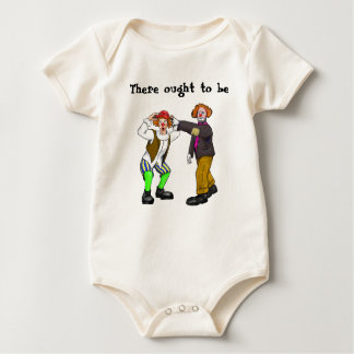 Clowns Baby Bodysuit