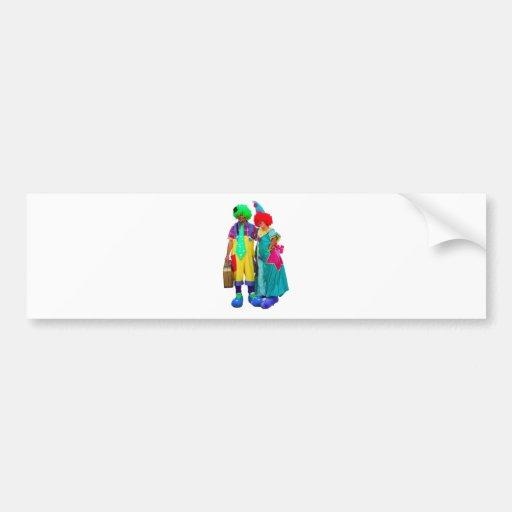 clowns bumper stickers
