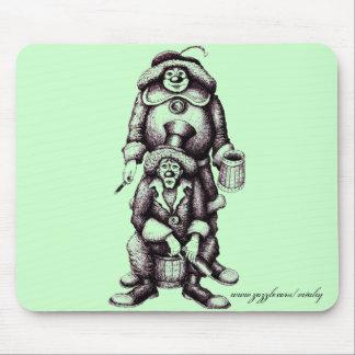 Clowns funny mousepad design