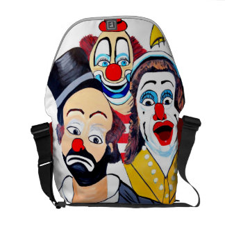 CLOWNS IN SHOCK COURIER BAGS
