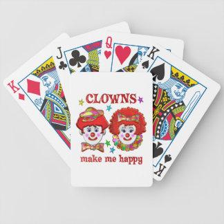 Clowns Make Me Happy Card Decks